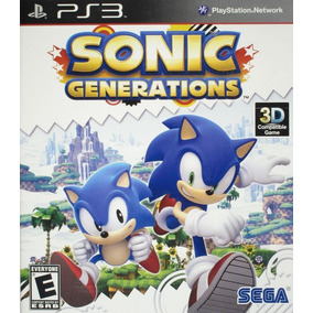 Favoritos Sonic Generations - Ps3