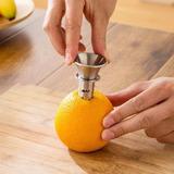 Espremedor Extrator Tubular Em Inox Suco Limão Laranja Casa