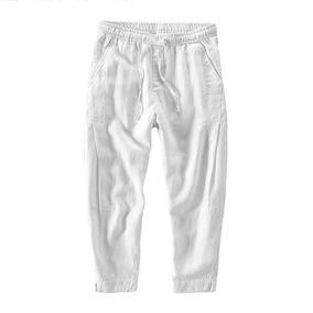 Helisopus Mens Loose Ninth Pantalones Casual Harem Basic. 56a5de6c296