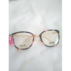 Armaçao De Grau Dourado Dior - Óculos no Mercado Livre Brasil bc45a34f4c