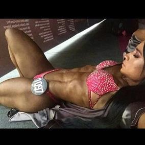Bikini Fitness Push Up #naranja
