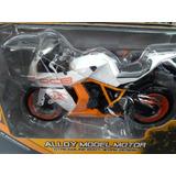 Motos Deportivas Ktm Rc8 Escala 1/12 Precio X Moto