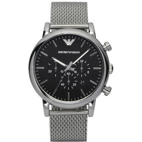 Relógio Emporio Armani Ar1808 Original + Caixa + 3 Anos De G