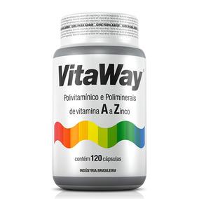 Vitaway Polivitamínico A Z Fitoway 120 Cápsulas