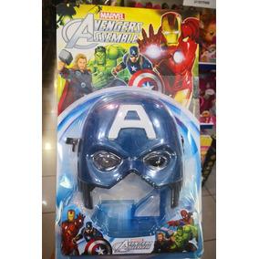 Mascara Avenger Capitán América Marvel