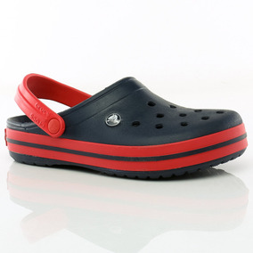 Sandalias Crocband Navy/red Crocs Team Sport Tienda Oficial