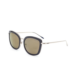 b2997fd77a441 Oculos Sol Colcci C0091 Azul Brilho Com Dourado  l Marrom. R  435