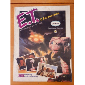 Álbum De Figurinhas Et Editora Rge 1983 Completo