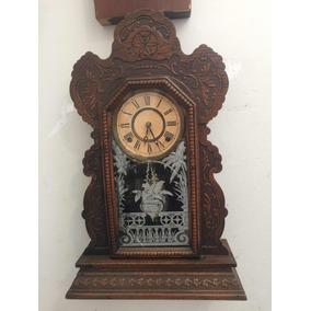 67aa1e11f3e Relogio Americano Jerome E Company - Relógios De Parede Antigos no ...