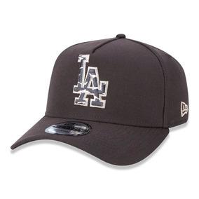 Boné New Era Snapback Los Angeles Dodgers Aba Curva Marrom 8ba719b291c