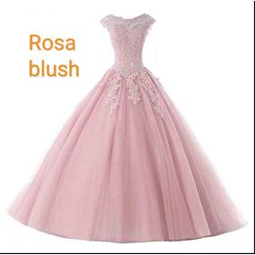 Vestido color blanco con rosa