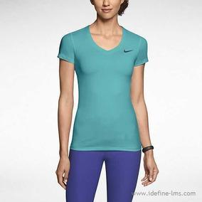 Playera Nike Pro Training, Mujer, Color Azul, Envio Gratis