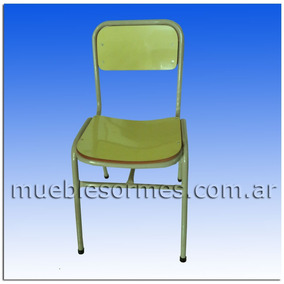 Silla escolar antigolpe muebles para oficinas en mercado for Fabrica de sillas de oficina zona norte
