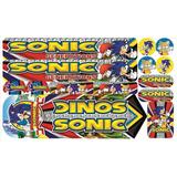 Cartela Adesivo Bicicleta Infantil Sonic Generations