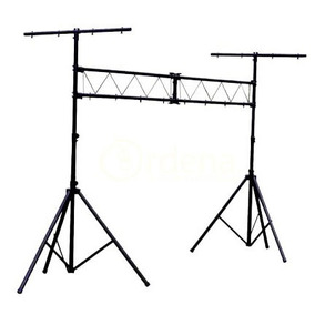 Stand De Audio Tipo Porteria De 150kg Para Iluminacion Woow
