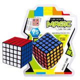 Cubo Magico 5x5 Cube World Magic Habilidad Jyj011 Manias
