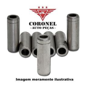 Guia Valvula Admissão Fusca Brasilia 1.3 8v Ar 4 Peças