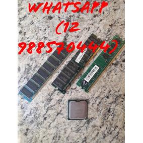 Processador Intel Core 2 Duo . Tres Pentes De Memoria