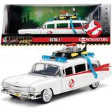 Vehículo Ecto-1 Ghostbusters 1:24 Cazafantasmas Jada
