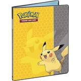 Carpeta De Tarjetas Pokemon Ultra-pro Con Pikachu (álbum /