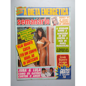 Revista Semanário Gretchen Mara Maravilha Lady Di Elba 481