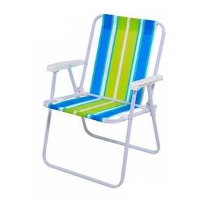 Cadeira De Praia Dobrável Mor