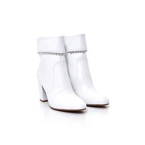 Botas De Mujer Via Uno 18159303 Vegetal Blanco
