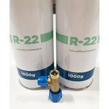 2 Gás R22 1 Kg Cada Refrigerante + 01- Válvula