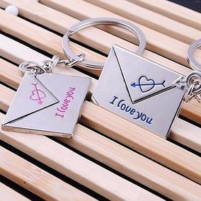 Chaveiros Carta De Amor Namorados Casal - Frete Grátis ! !