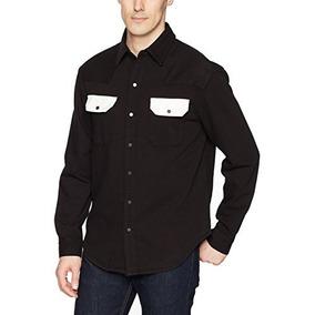 Calvin Klein Jeans Bolsillos De Contraste De Camisa Vaquera