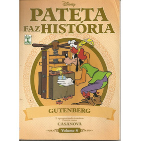Pateta Faz História Volume 8 Gutenberg - Ano 2011