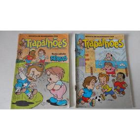2 Gibis Revista Em Quadrinhos Dos Trapalhões Nºs 13 E 47