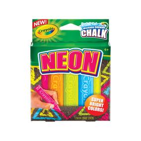 Tizas Lavables Neon Crayolax5 Unidades