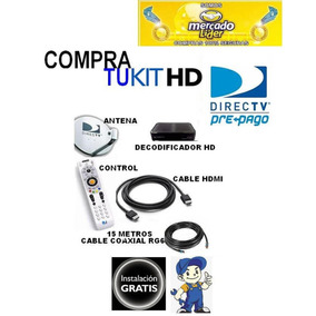 Decodificador Directv Hd + Kit De Instalación