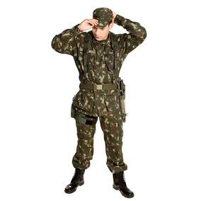 Conjunto Camuflado Exército - Calçados, Roupas e Bolsas no Mercado ... 81199dcbd6