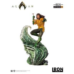 Aquaman 1/10 Iron Studios (leia A Descrição)