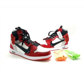 93656b74a8b Tênis-bota Nike A Ir Jordan 1 Lançamento Couro Novo Na Caixa