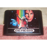 Micheal Jacksons Moonwalker Re-pro Para Sega Genesis