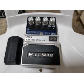 Pedal Digitech Hardwire Cr7 Stereo Chorus - Super Conservado