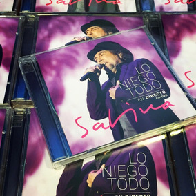 Joaquin Sabina Lo Niego Todo En Directo Cd + Dvd Nuevo Stock