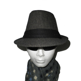 Sombrero Chic Corte Clasico Cubano Fedora Hat Gorra Boina 0371a7b5b025