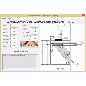 Aplicativo P/ Dimensionamento De Consolos De Concreto Armado