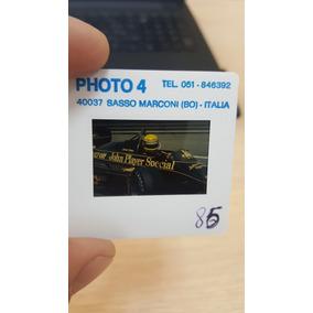 Foto Ayrton Senna Slide Original 35 Mm - Lotus 97t - Foto 1