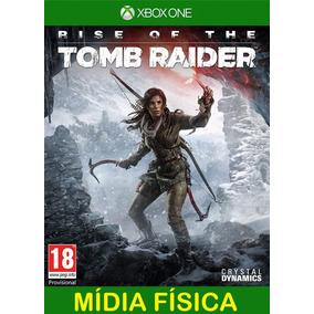 Rise Of Tomb Raider Xbox One - 100% Original (mídia Física)
