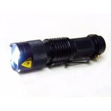 Mini Lanterna Tática Profissional Recarregável Cree Led