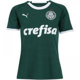 Camisa Puma Palmeiras 1 Feminina 2019 755018 Original + Nf