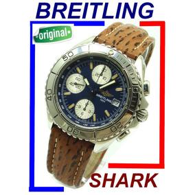 Lindo Breitling Shark Cronógrafo Automático Ref. A13051 !