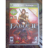 Fable Ii - Xbox 360 Perfecto Estado