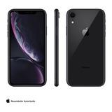 iPhone Xr Preto, Com Tela 6,1 , 4g, 64gb, 12mp - Mry42bz/a