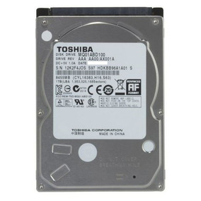 Hd Toshiba 1tb P/ Notebook Sata Ii 3.0 5400 Rpm Mq01abd100